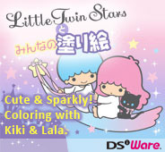 Little Twin Stars' Coloring Book